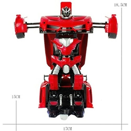 2-in-1 Transforming Remote-Controlled Car & Toy Robot - 5 Designs