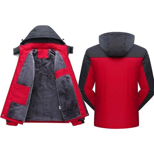 Save 75% - Wind & Waterproof Fleece Lined Unisex Coat - 4 Colours