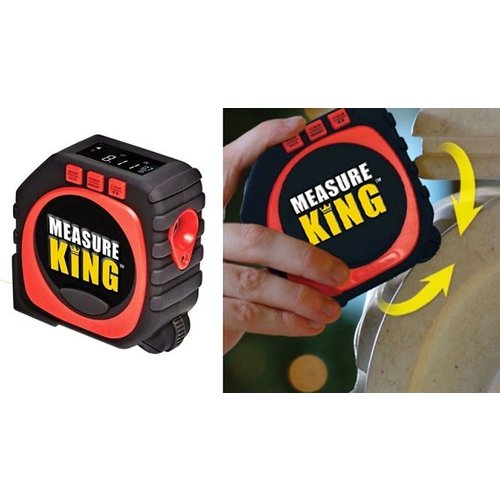 Save 64% - 3-in-1 Laser Tape Measure with Digital Display