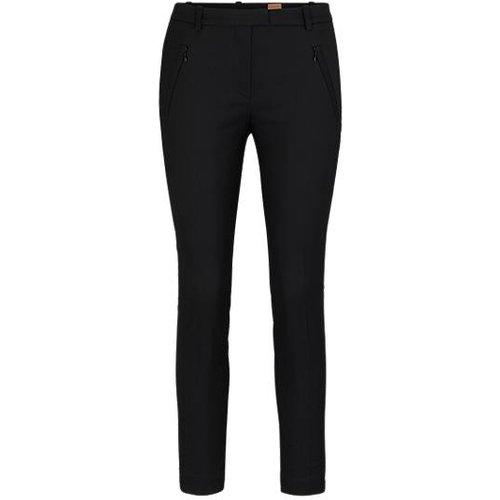 Pantalon Slim Fit court, zippé au bas des jambes - Boss - Modalova