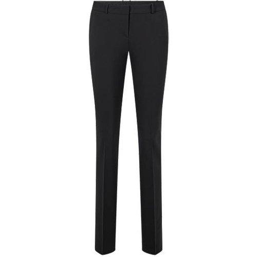Pantalon Regular Fit en laine vierge italienne stretch - Boss - Modalova