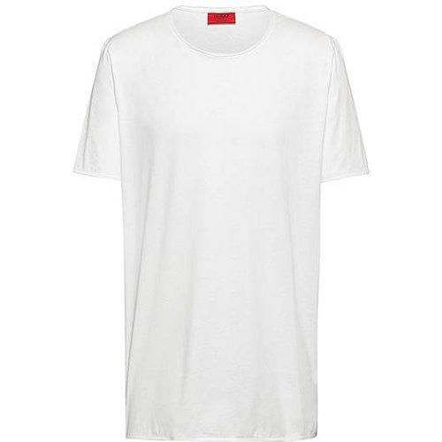T-shirt Regular Fit à bords francs - HUGO - Modalova