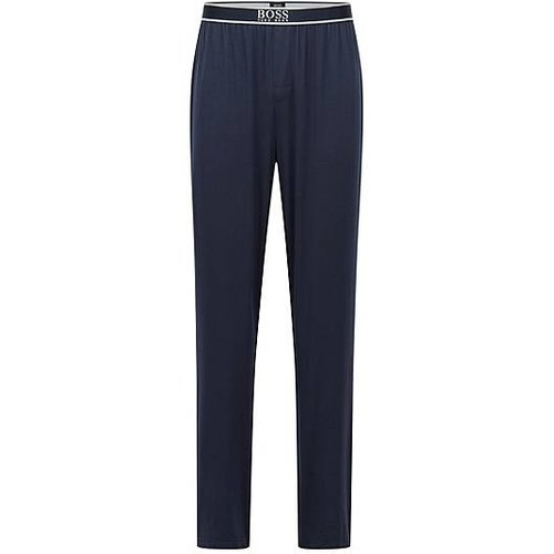 Bas de pyjama en modal stretch, avec ceinture à logo - Boss - Modalova