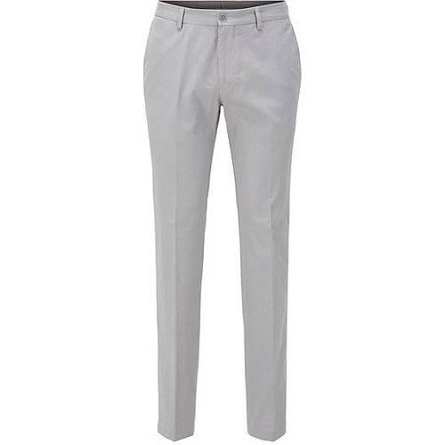 Pantalon SlimFit en coton stretch lavé - Boss - Modalova