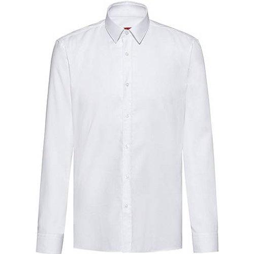 Chemise Extra Slim Fit en coton Oxford facile à repasser - HUGO - Modalova