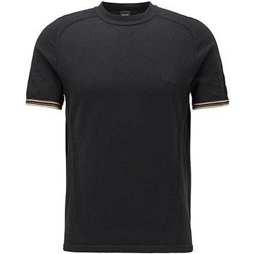 T-shirt Regular Fit à empiècements en mesh body-mapping - Boss - Modalova