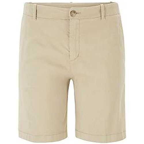 Short chino Regular Fit en coton stretch satiné - Boss - Modalova