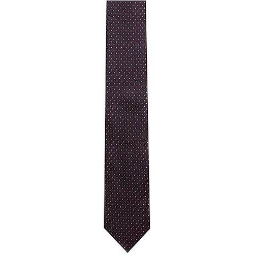 Cravate en jacquard de soie avec motif - HUGO - Modalova