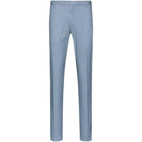 Pantalon Extra Slim Fit en coton stretch à motif caviar bicolore - HUGO - Modalova