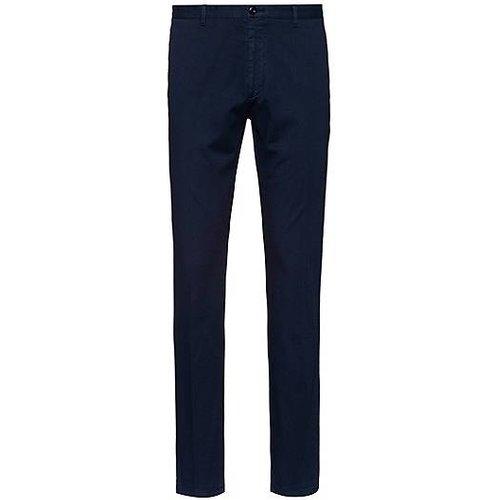 Pantalon Slim Fit en coton stretch micro-structuré - HUGO - Modalova