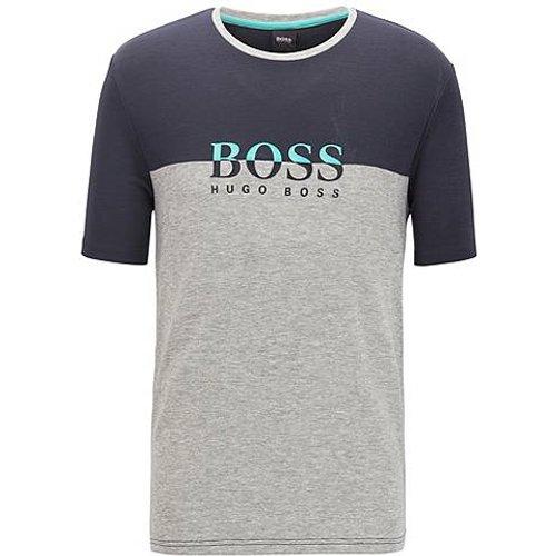 T-shirt de pyjama à logo en tissu lyocell - Boss - Modalova