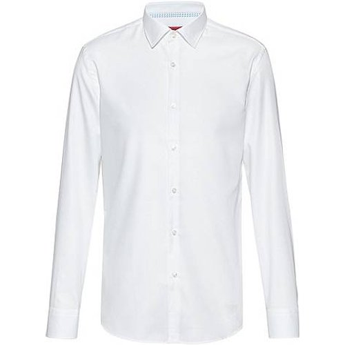 Chemise Slim Fit en coton Oxford facile à repasser - HUGO - Modalova