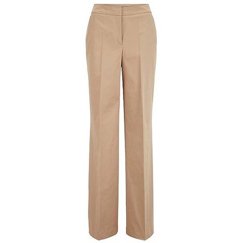Pantalon Relaxed Fit en coton stretch lavé - Boss - Modalova