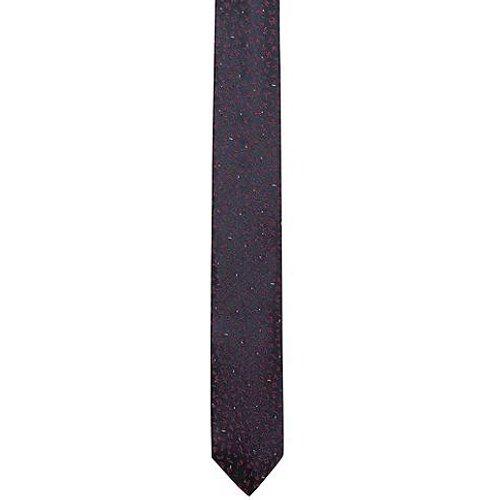 Cravate en jacquard de soie à micromotif - HUGO - Modalova