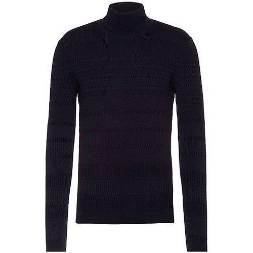 Pull Extra Slim Fit en coton et laine vierge - HUGO - Modalova