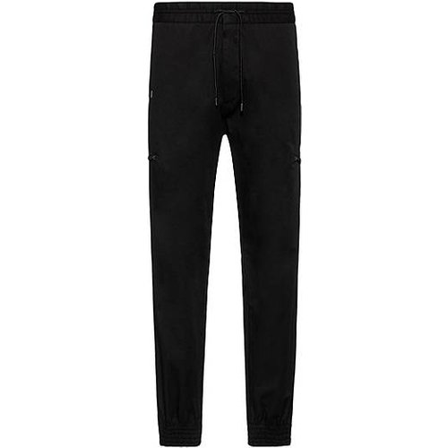 Pantalon Slim Fit en coton stretch resserré au bas des jambes - HUGO - Modalova