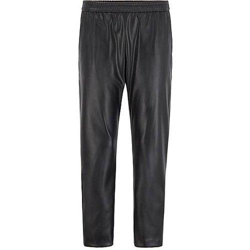 Pantalon de survêtement Regular Fit en similicuir - Boss - Modalova