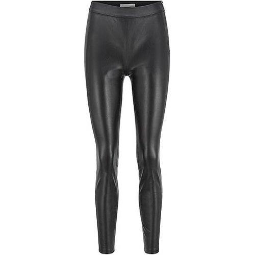 Pantalon Slim Fit en similicuir avec empiècements sur les côtés - Boss - Modalova