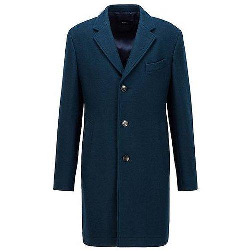 Manteau élégant Slim Fit en jersey de laine mélangée - Boss - Modalova