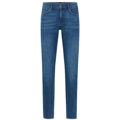 Jean Slim Fit en denim italien au toucher cachemire - Boss - Modalova