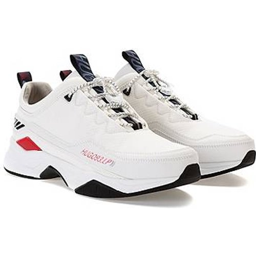 Baskets inspirées des chaussures de course avec lacets à cordon de serrage - HUGO - Modalova