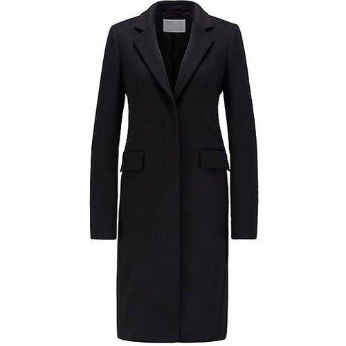 Manteau habillé en laine vierge italienne à teneur en cachemire - Boss - Modalova
