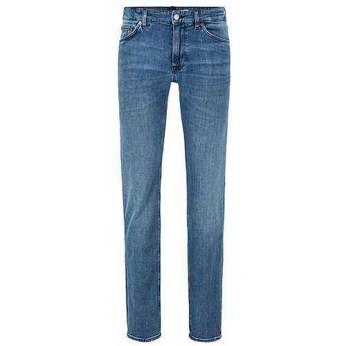 Jean Regular Fit en denim effet cachemire - Boss - Modalova