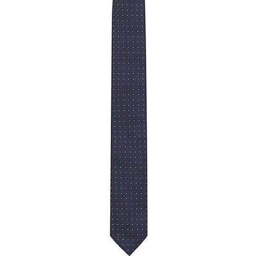 Cravate en jacquard de soie à motif - HUGO - Modalova