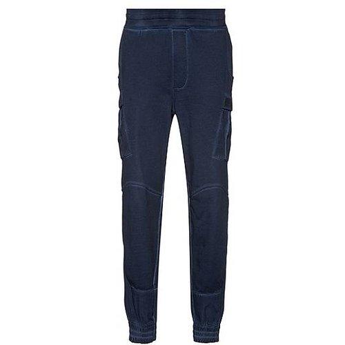 Pantalon cargo Regular Fit mixte en coton teint en pièce - HUGO - Modalova