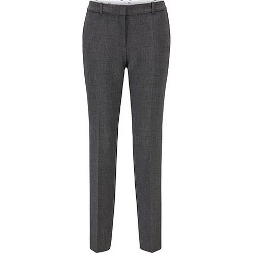 Pantalon bootcut Regular Fit en jacquard stretch - Boss - Modalova