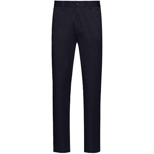Pantalon Regular Fit en satin de coton stretch - HUGO - Modalova