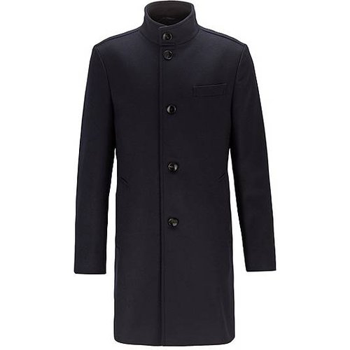 Manteau Slim Fit en feutre de laine mélangée - Boss - Modalova