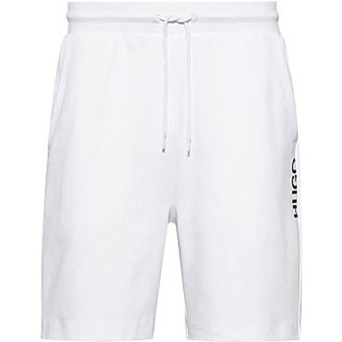 Short Regular Fit en coton à logo vertical revisité - HUGO - Modalova