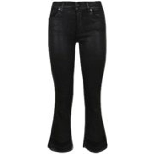 Cropped Boot Unrolled - Noir - 7 For All Mankind - Modalova