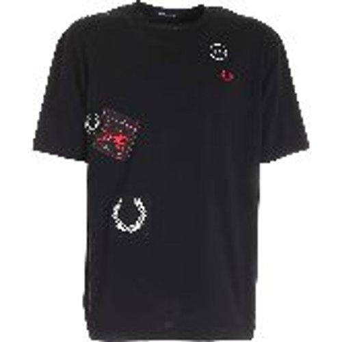 T-Shirt - Graphic Applique - Fred Perry - Modalova