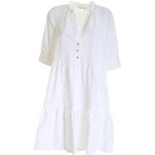 Robe Au Genou - Blanc - OTTOD'AME - Modalova