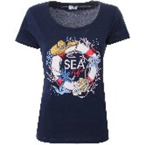T-Shirt - Bleu - Liu Jo - Modalova