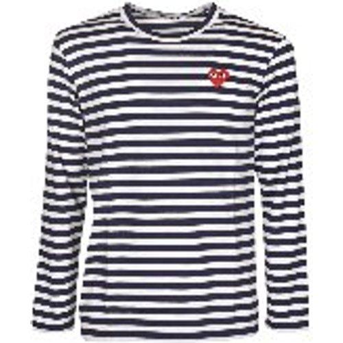T-Shirt - Bleu - Comme des Garçons Play - Modalova
