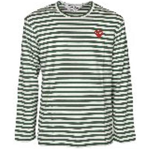 T-Shirt - Vert - Comme des Garçons Play - Modalova