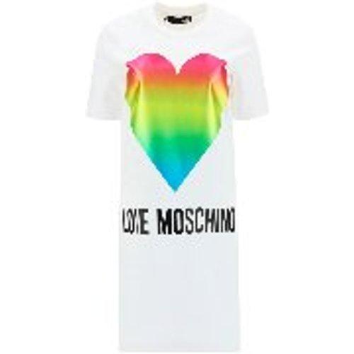 Robe Courte - Rainbow Heart - Love Moschino - Modalova