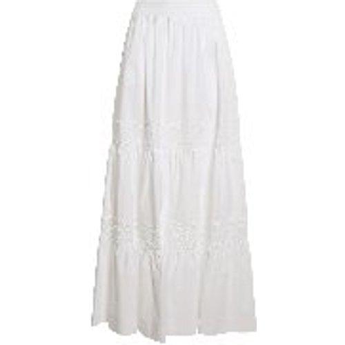 Jupe Longue - Blanc - P.A.R.O.S.H. - Modalova
