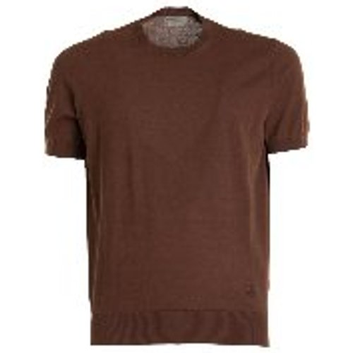 T-Shirt - Marron - CORNELIANI - Modalova