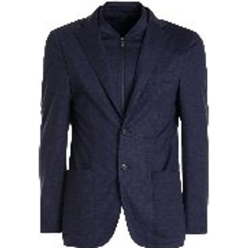 Blazer - Bleu - CORNELIANI - Modalova