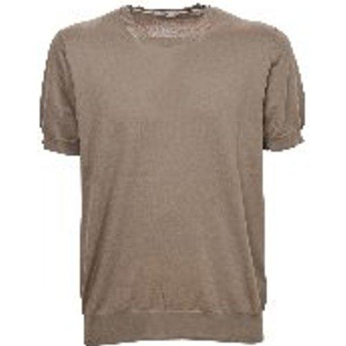 T-Shirt - Beige - Paolo Pecora - Modalova
