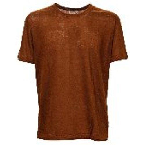 T-Shirt - Marron - Paolo Pecora - Modalova