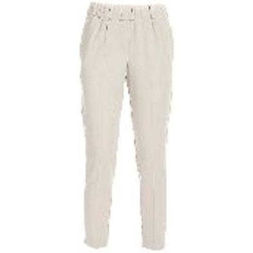 Pantalons Decontractes - Blanc - Le Tricot Perugia - Modalova