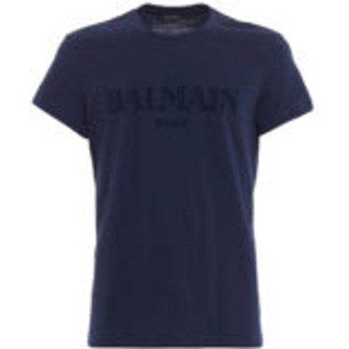T-Shirt - Bleu - Balmain - Modalova
