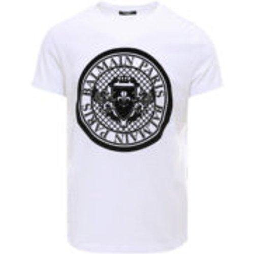 T-Shirt - Blanc - Balmain - Modalova