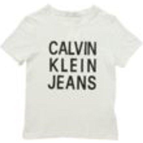 T-Shirt - Blanc - Calvin Klein Jeans - Modalova