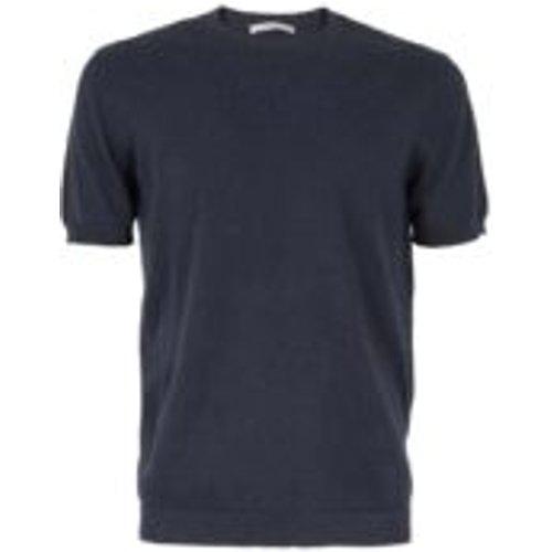 T-Shirt - Bleu Fonce - CIRCOLO 1901 - Modalova